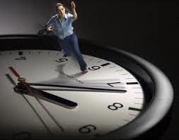 Courir après le temps qui court...