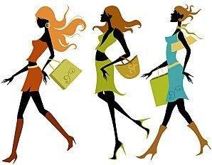 image-silhouette-shopping-libre-de-droits